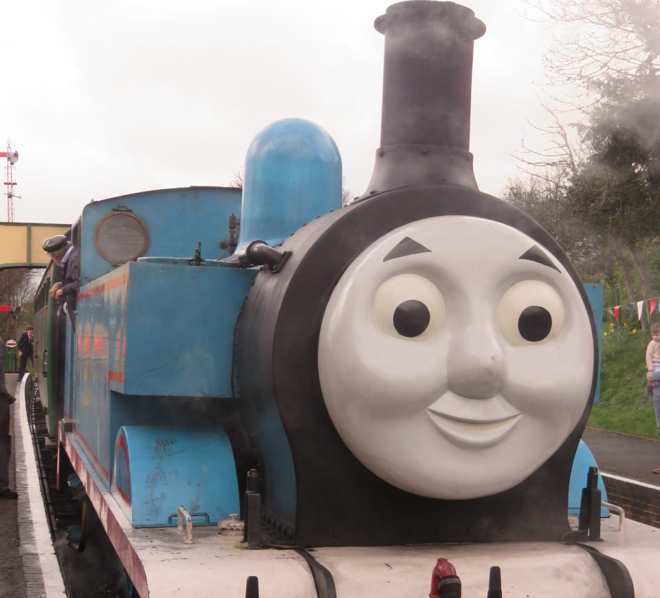 day out with Thomas the tank engine