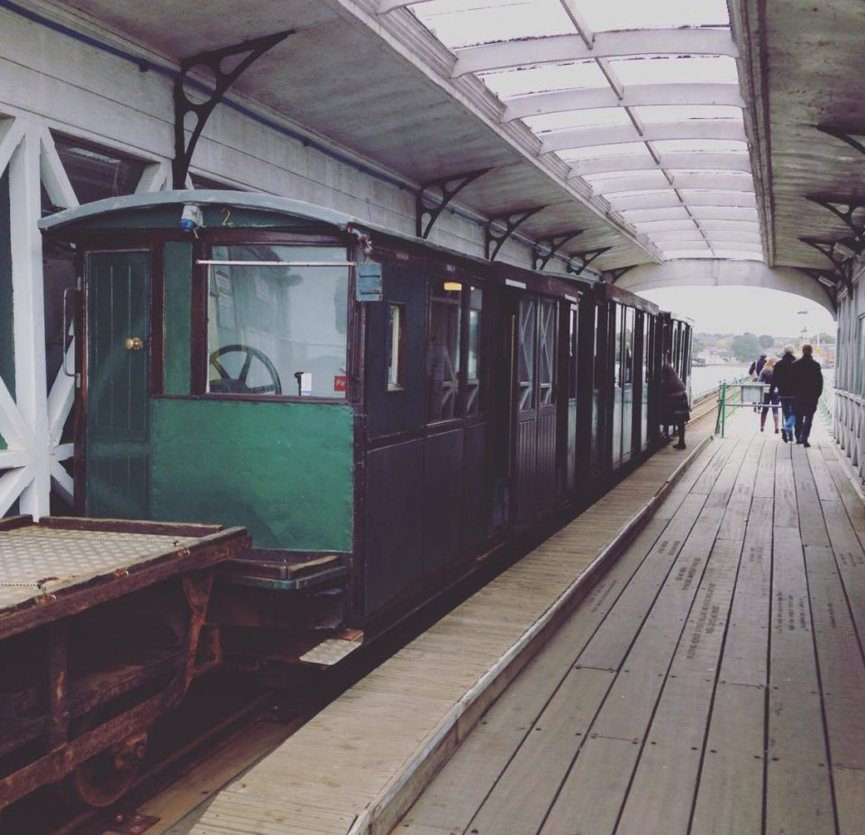 the train at Hythe