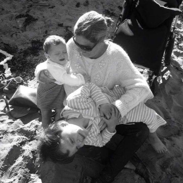 mum and children in inspirational story