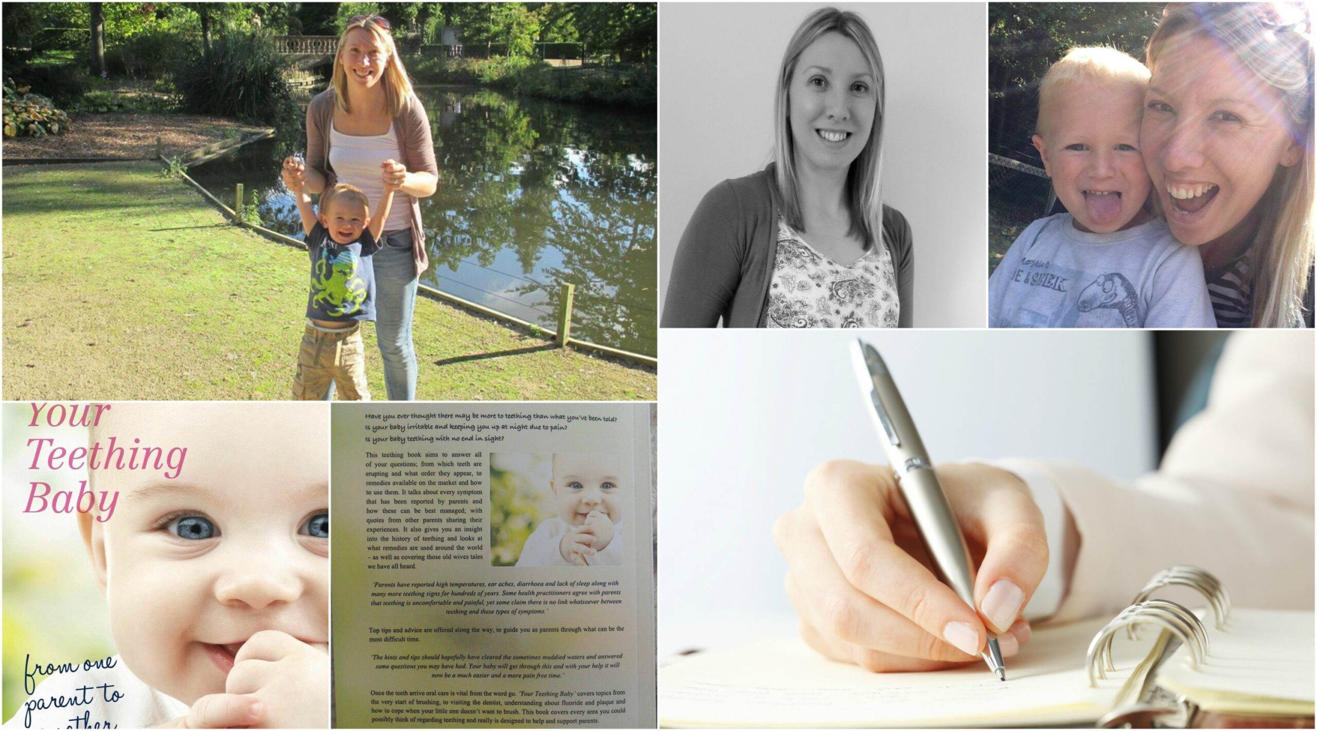 writing and self-publishing collage