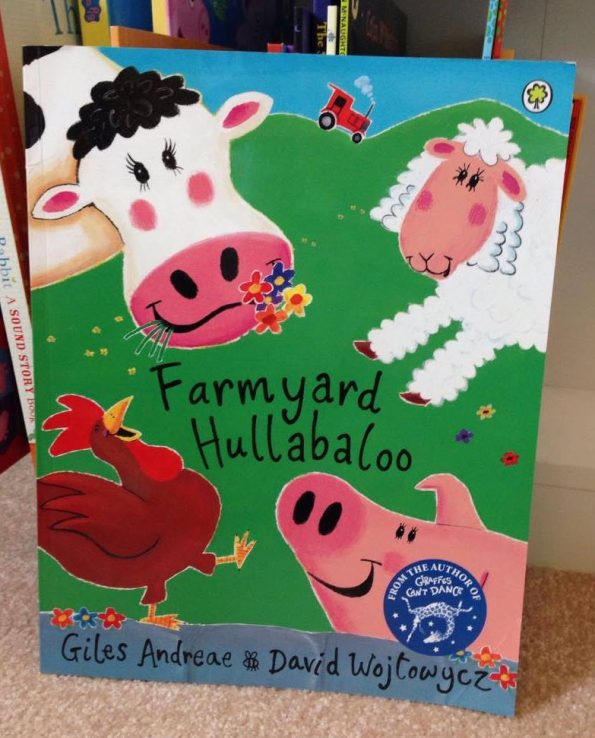 farmyard hullabaloo book