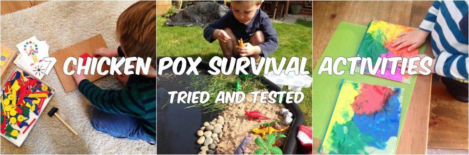 chicken pox survival collage