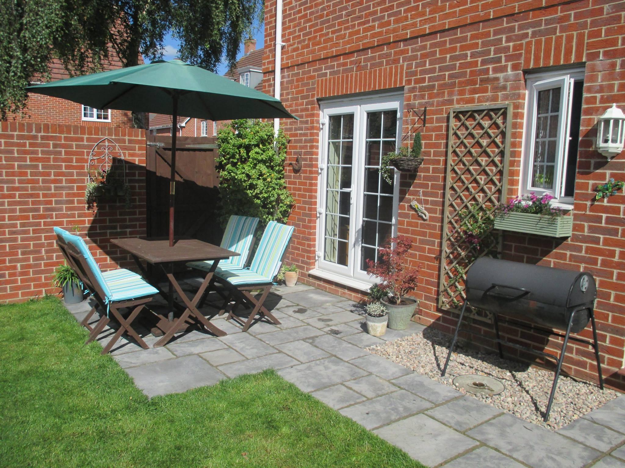 garden, grass, patio, patio furniture