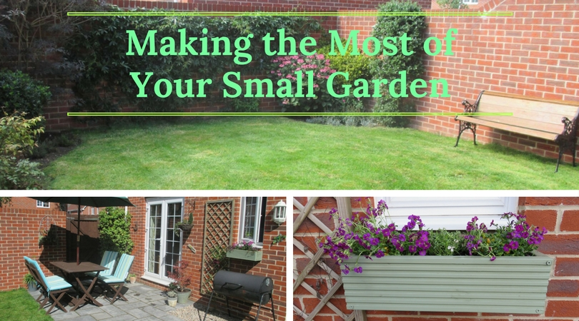 making the most of your small garden