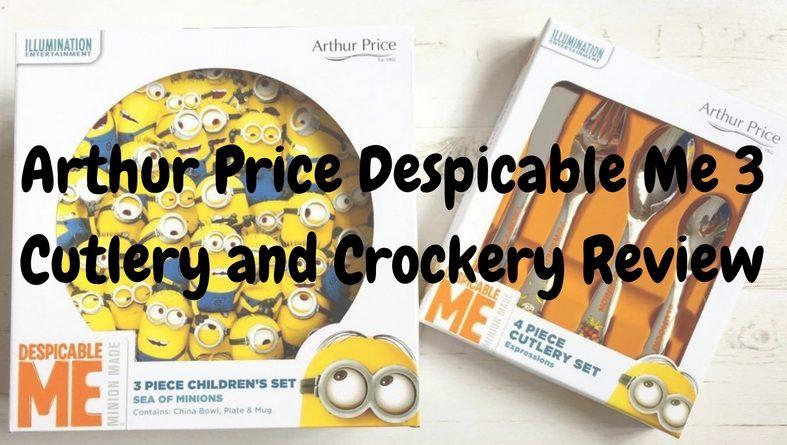 despicable me crockery review