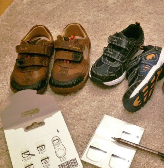 shoes and shoe labels