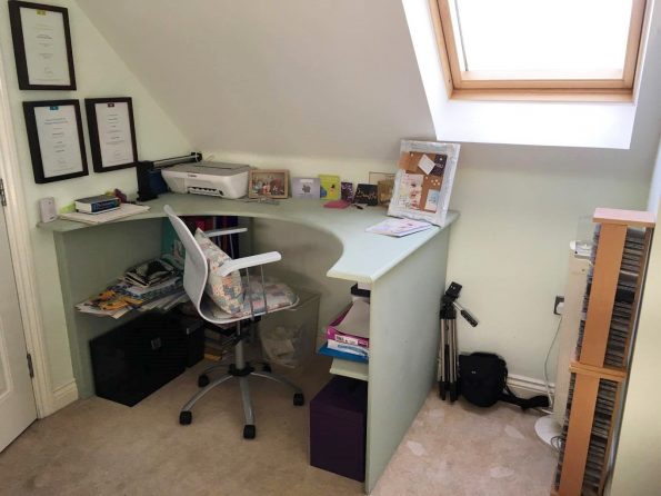 my office area