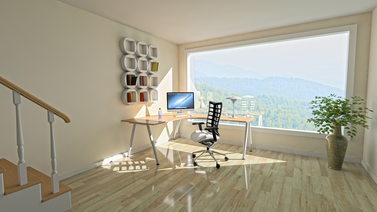 making space in your home light and airy room