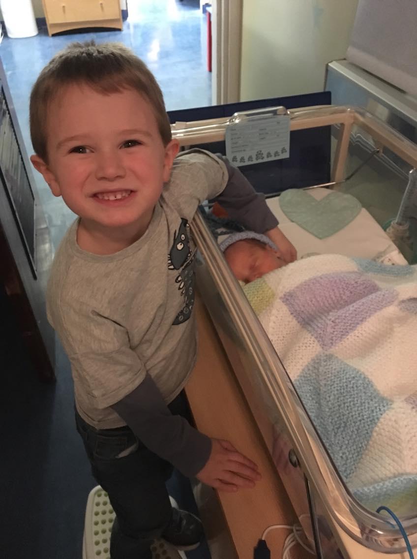 NICU child and baby