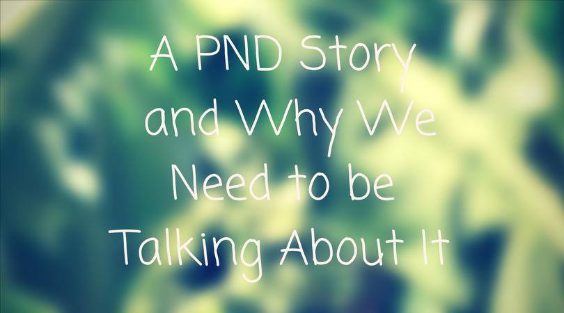 a postnatal depression story