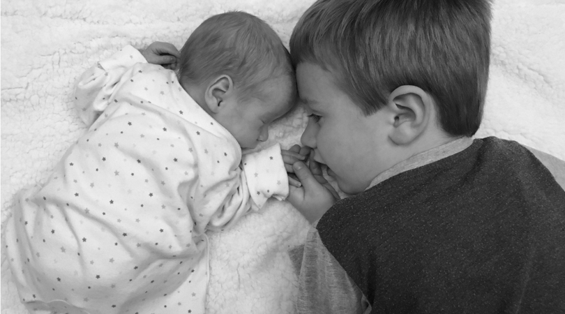preparing your first child for the arrival of your second child