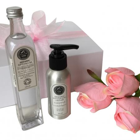 new mum pamper box with luxury products