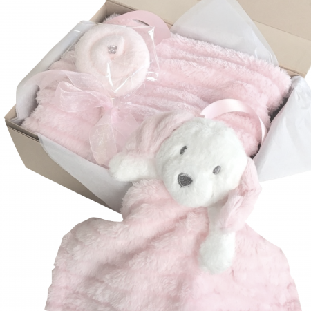 pink dog comforter set
