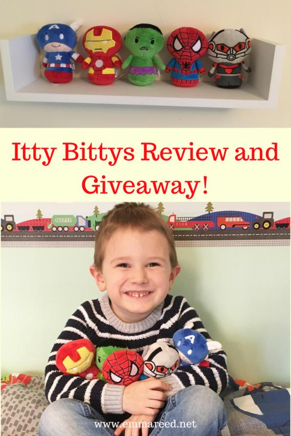 Itty Bittys Pinterest graphic