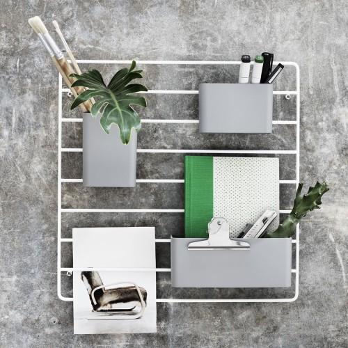 office stationary tidy shelf