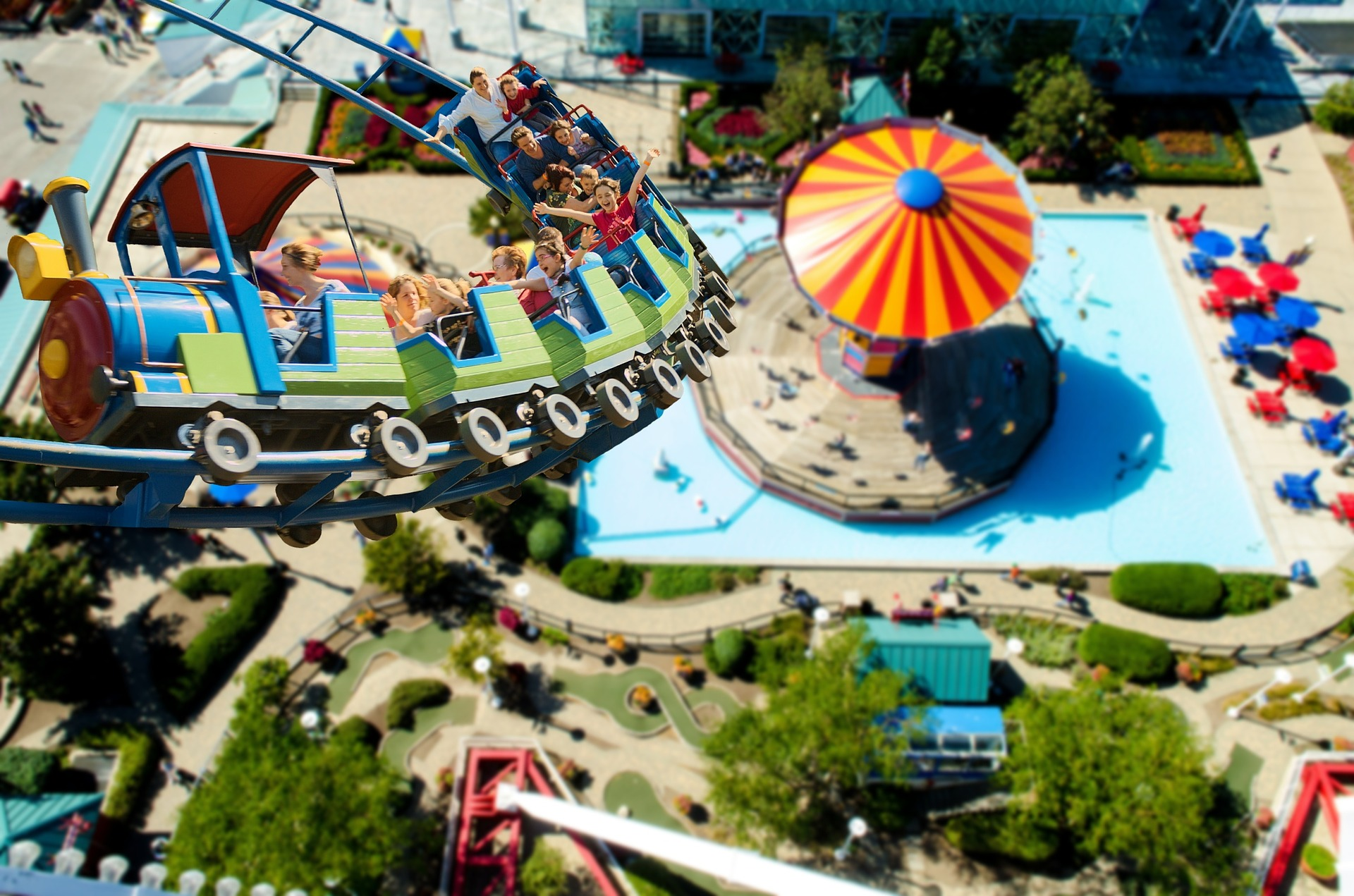 roller coaster for kids