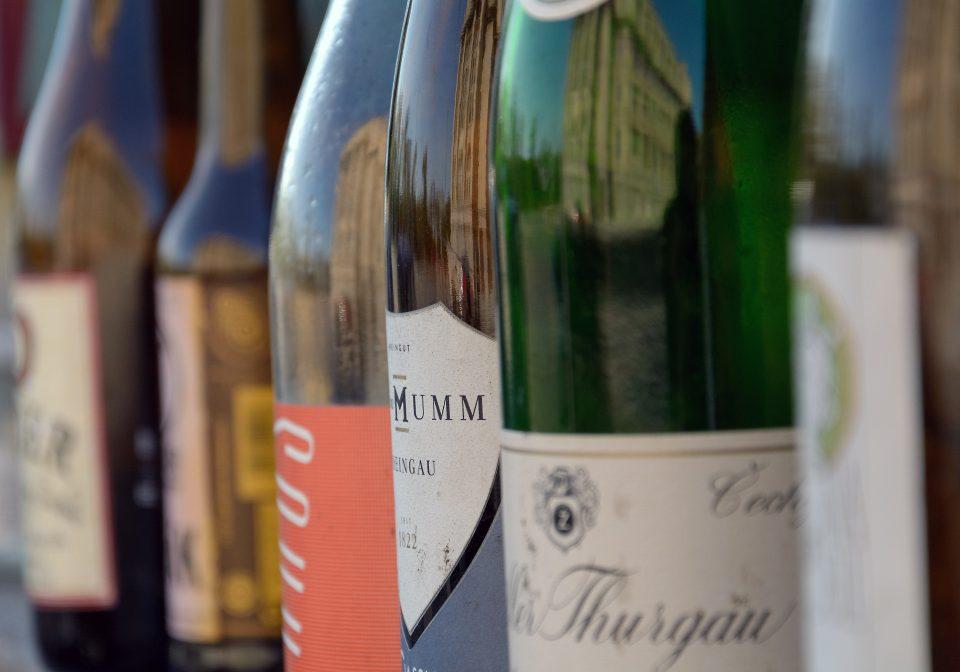 bottles of wine