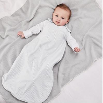 baby in sleeping bag