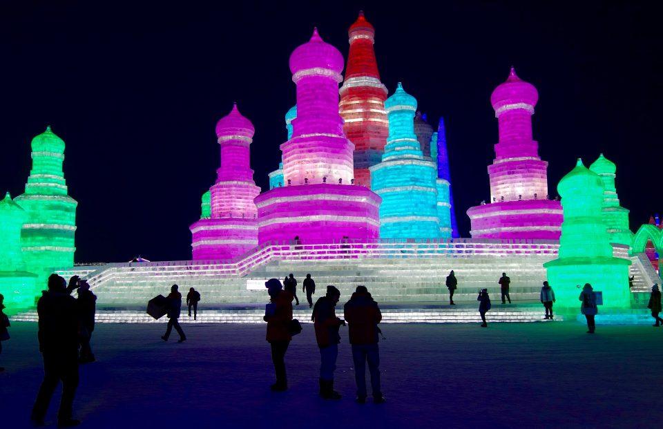 Harbin ice festival one of the most stunning of world festivals