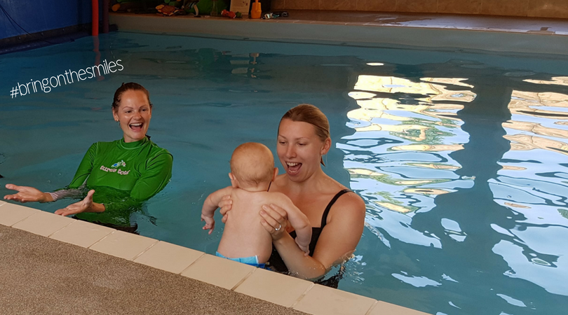 Turtle Tots swimming lessons #bringonthesmiles