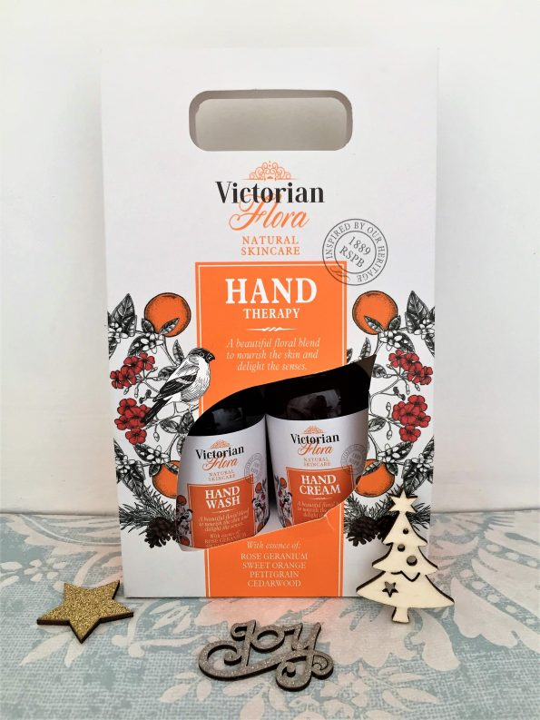 hand cream and wash from RSPB