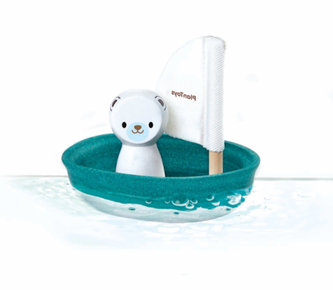 polar bear bath toy