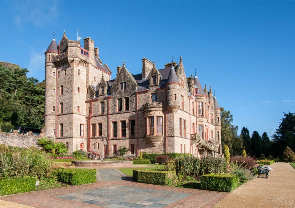 Irish castle in Northern Ireland