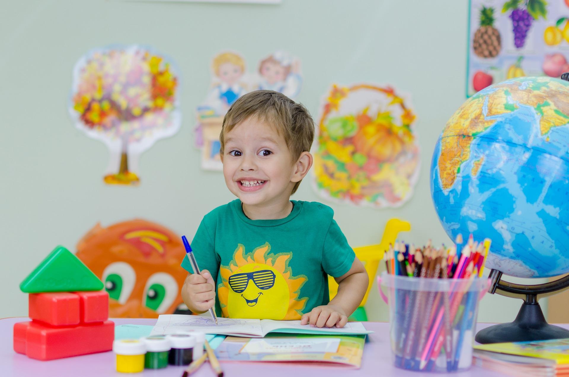 child starting school