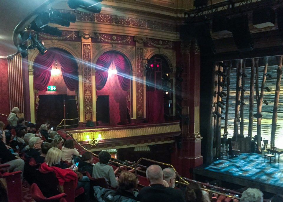view from the dress circle inside the phoenix theatre