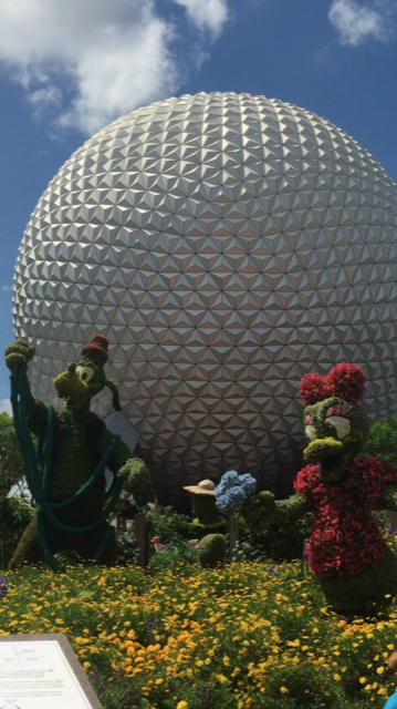 golf ball at Epcot