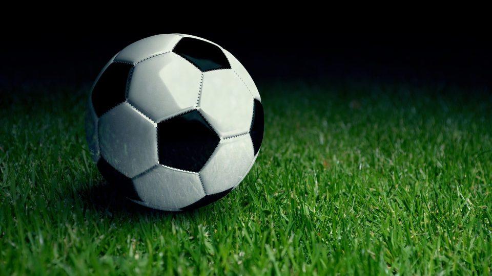 ball on artificial grass
