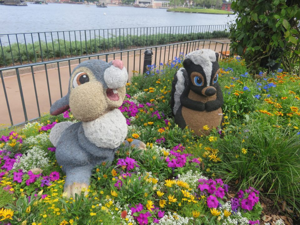Thumper and Flower from Bambi
