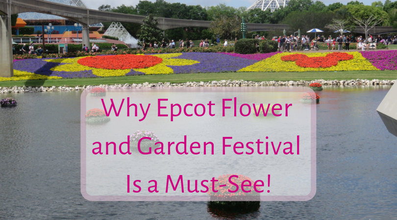 why Epcot flower and garden festival is a must-see!