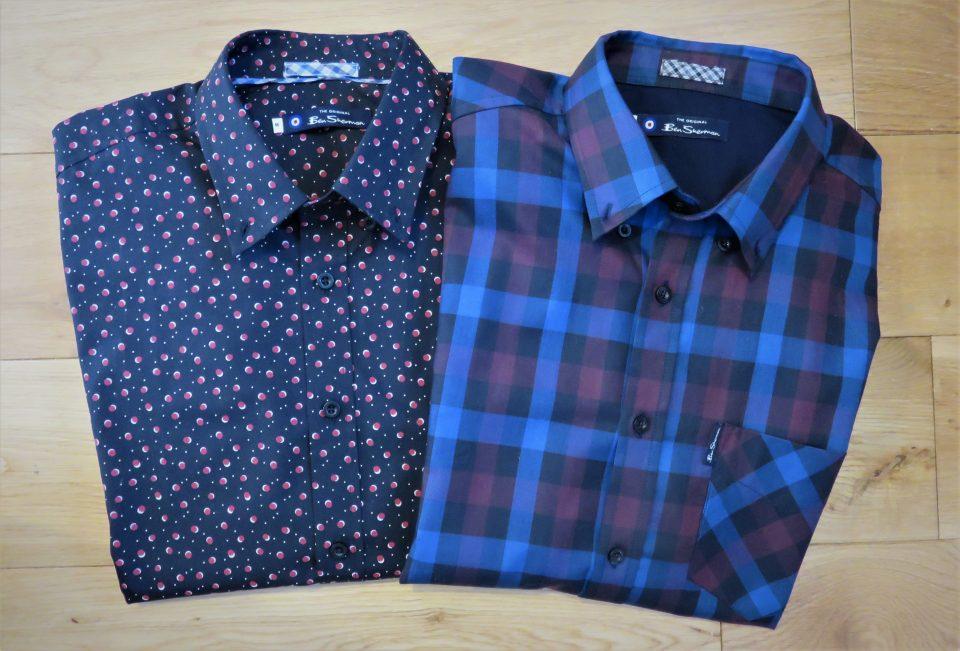 2 Ben Sherman shirts from Jacamo