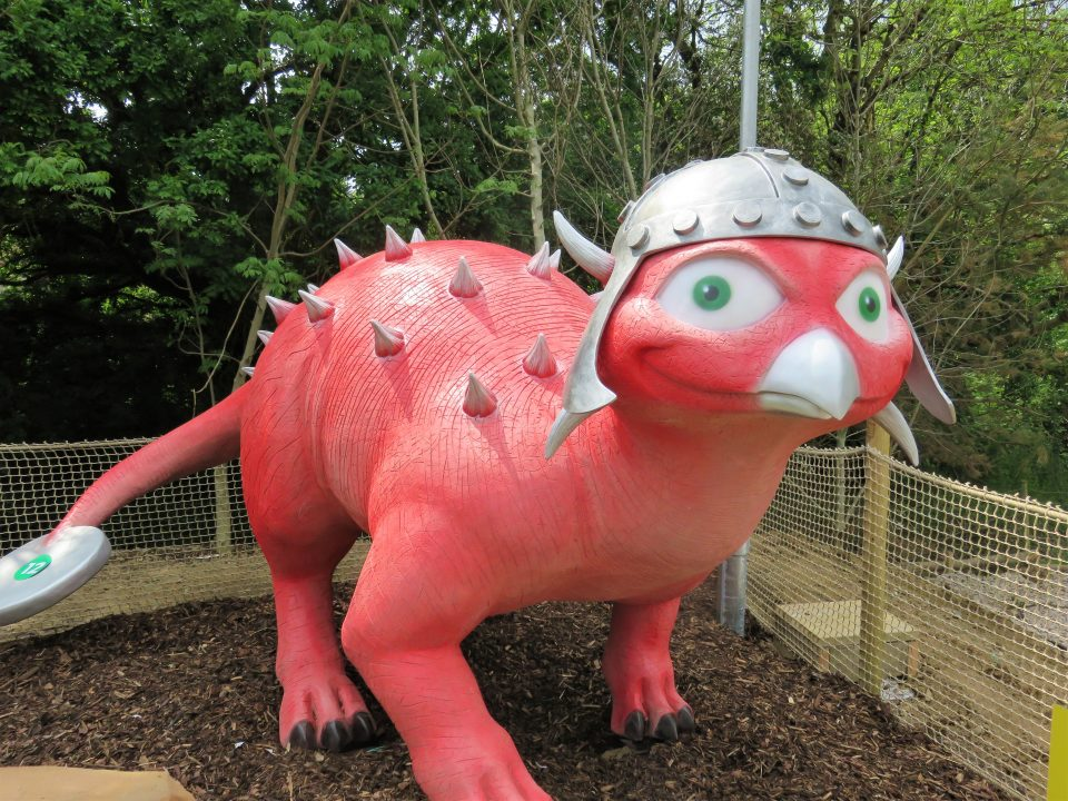 Bea the pink dinosaur