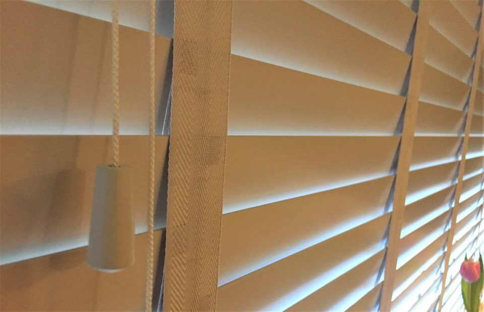 the drawstrings on the blinds