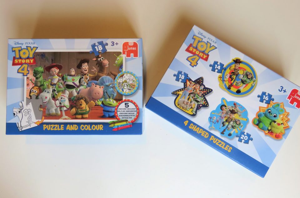 Toy Story 4 puzzles