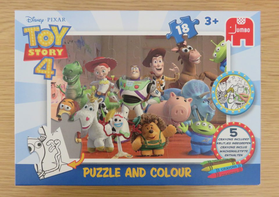 puzzle and colour