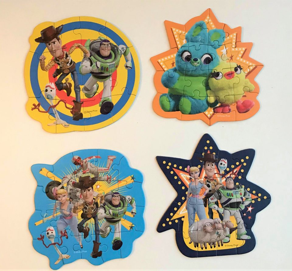 the 4 toy story 4 puzzles