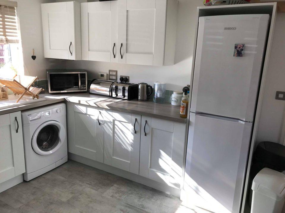 our kitchen so far