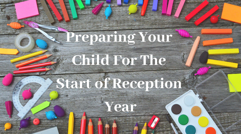 preparing your child for the start of reception year