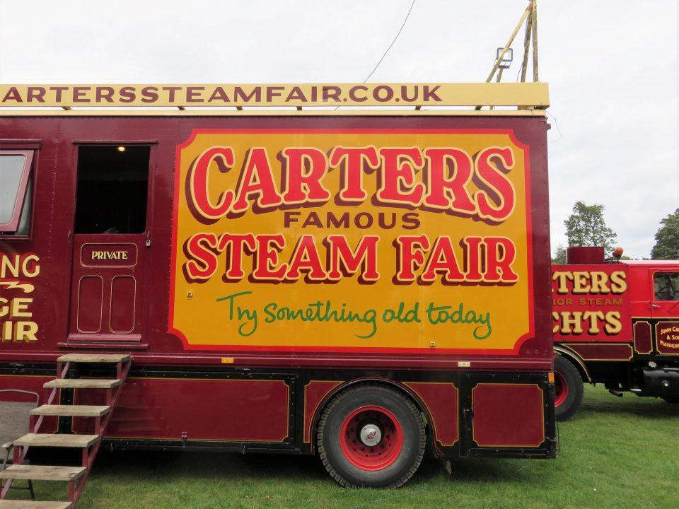 Carters Steam Fair truck