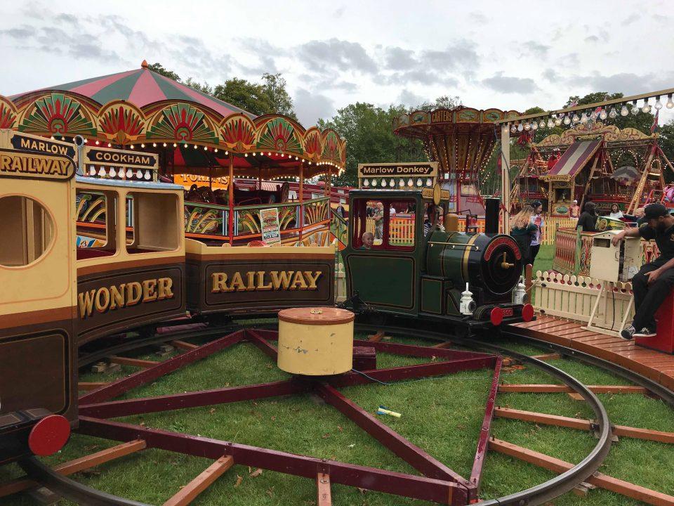 carters steam fair train
