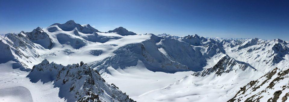 Austria in the winter ski slopes