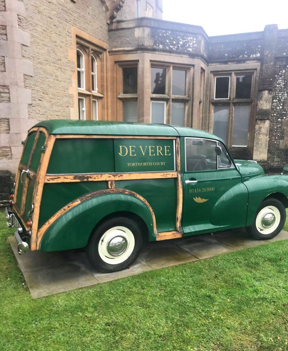 the green de vere car