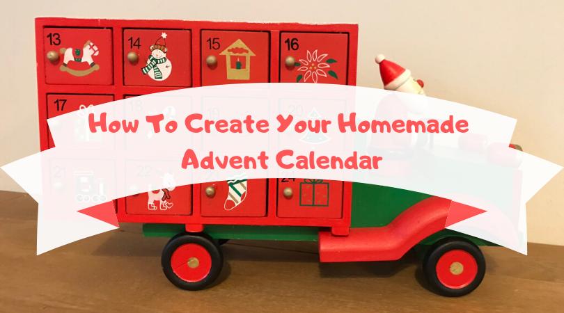 how to create your homemade advent calendar
