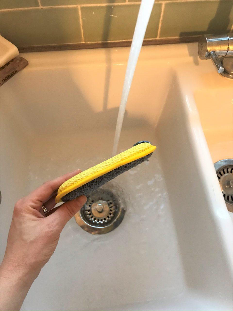 the washing up pad