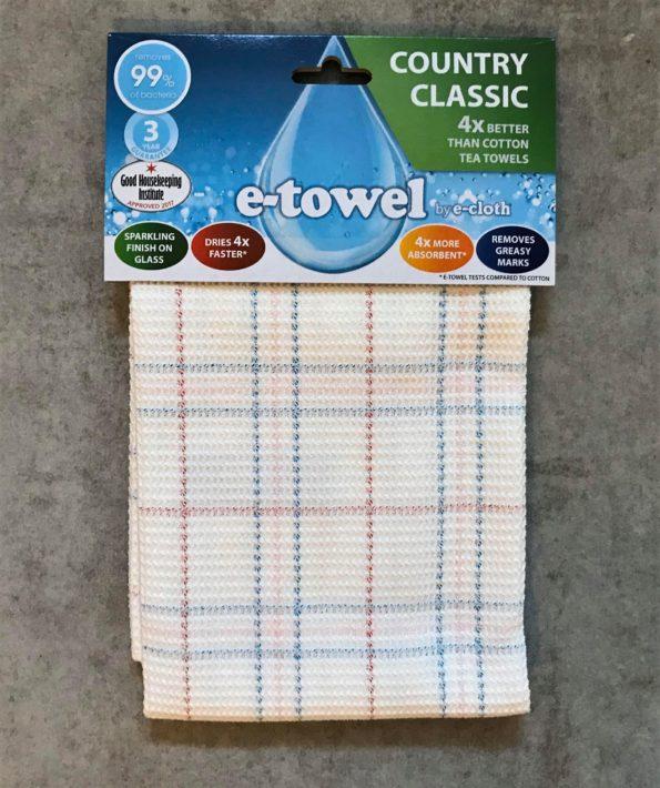 the e-cloth tea towel
