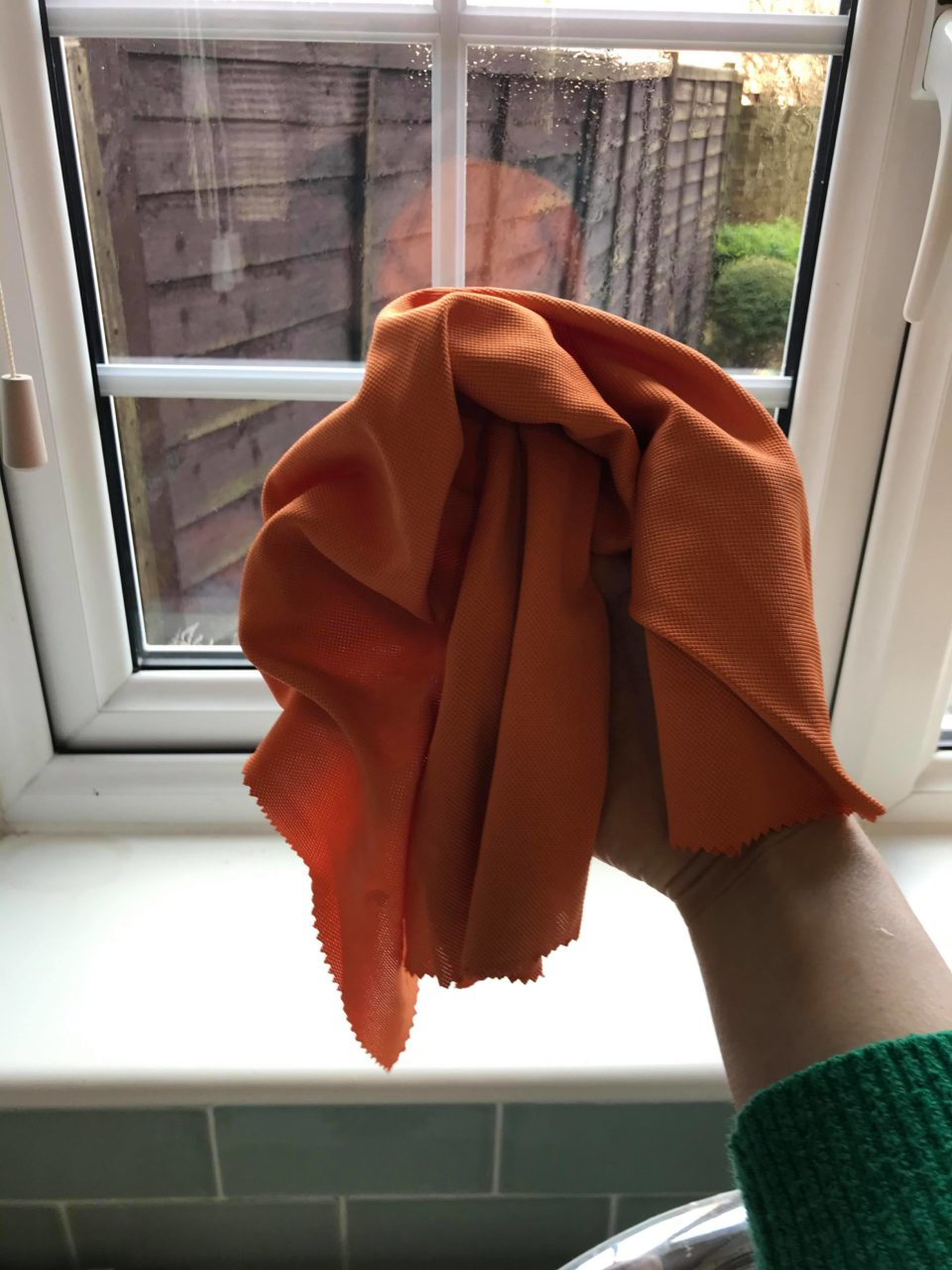 the polishing cloth