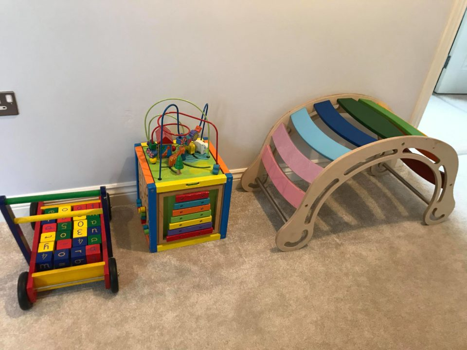 selection of wooden toys